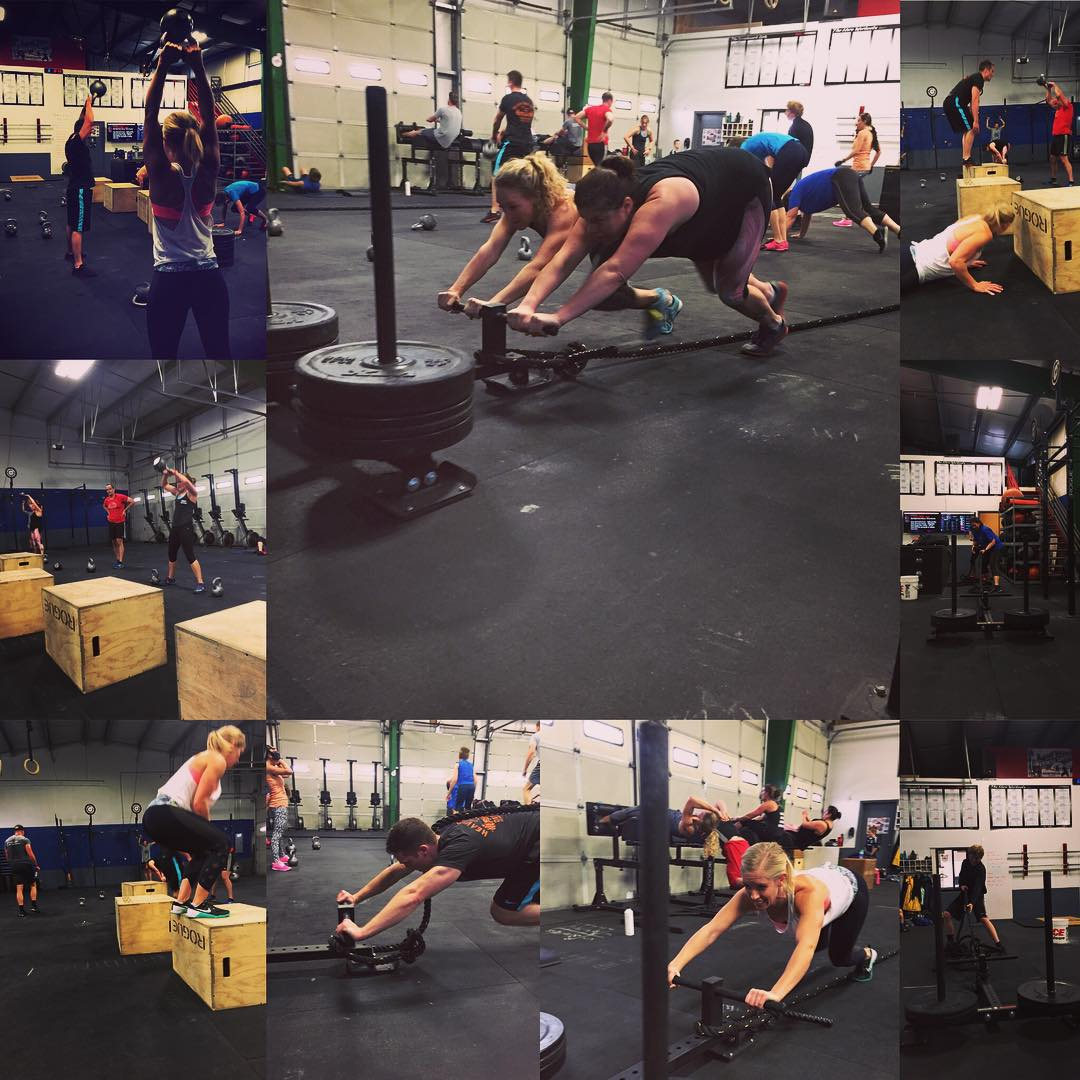 Saturday's WOD…… Bad Fight Gone Worse!