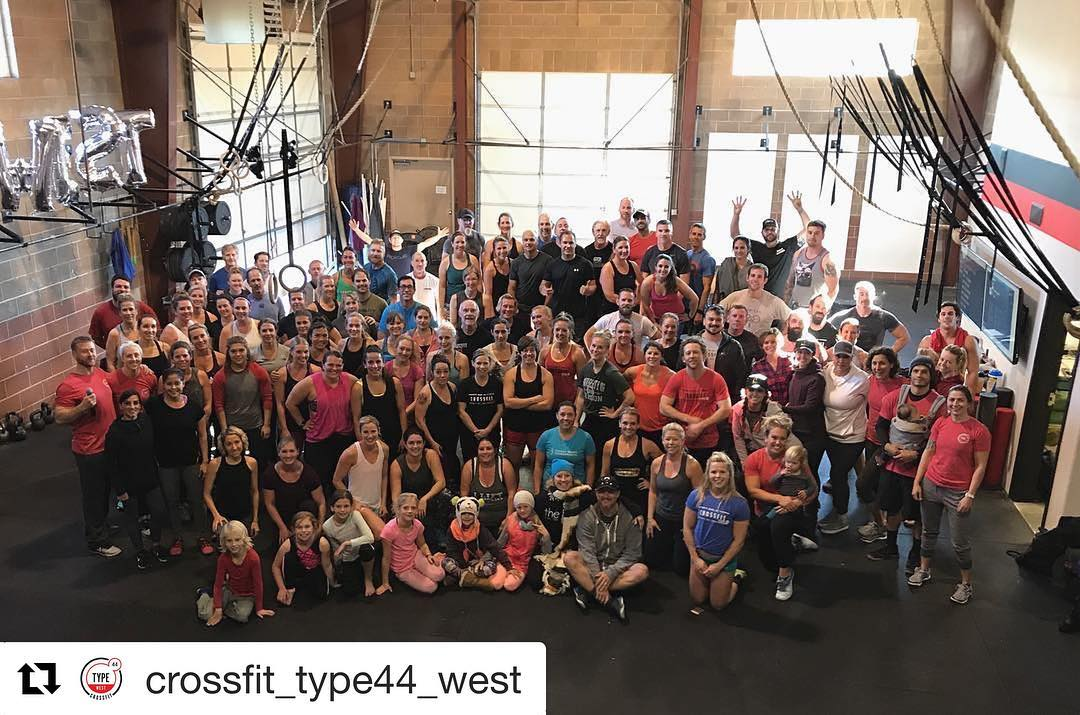 Overwhelmed by this community and the bond we share! . .  #Repost @crossfit_type44_west . .  Super overwhelmed with all the love and support. Big thank you to our #type44 community. There are no words to describe our Grand Opening at @crossfit_type44_west!