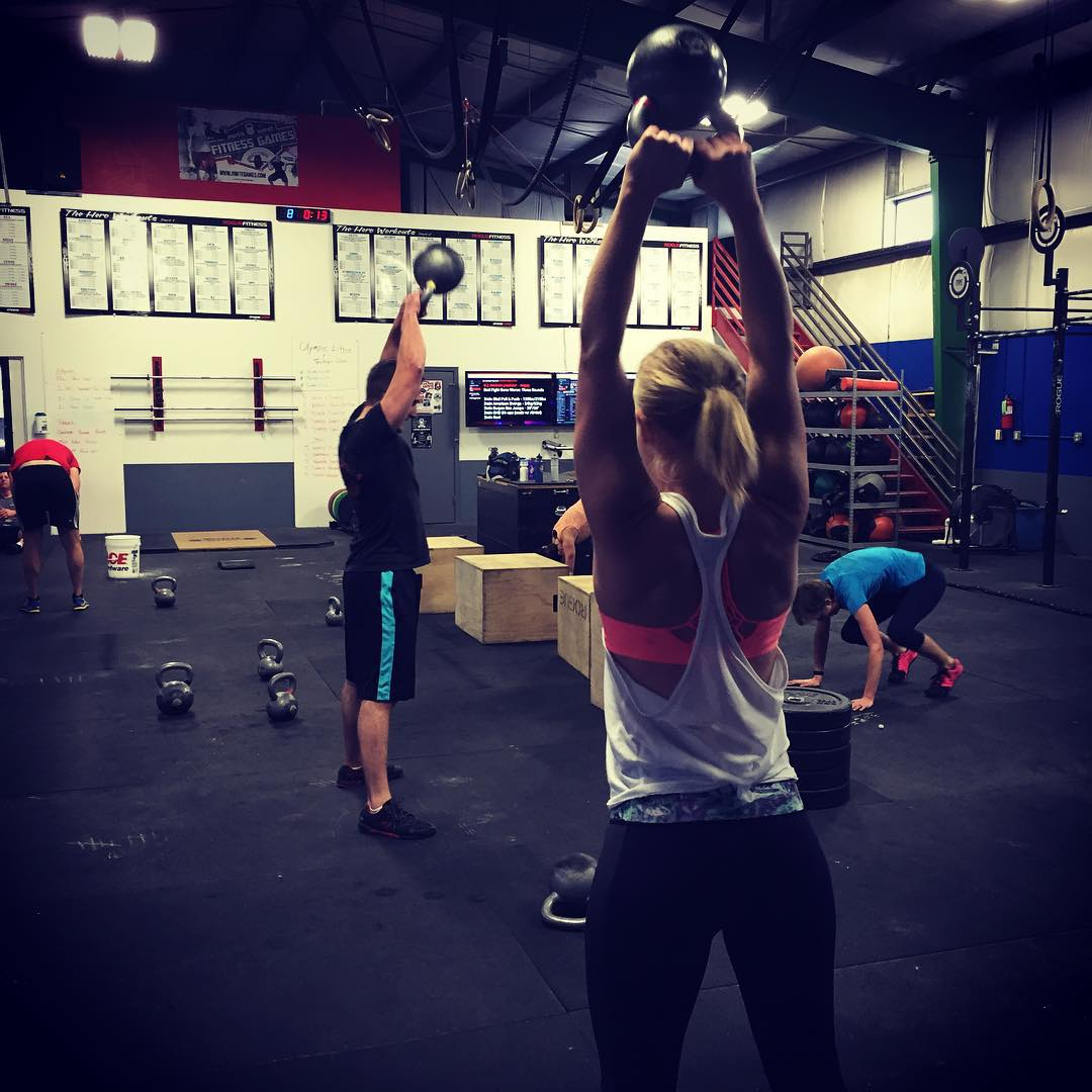 Saturdays WOD…… Bad Fight Gone worse!
