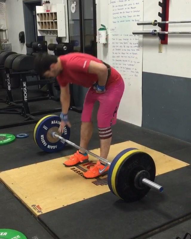 232# 105kg Snatch PR! Good work Mason!  #type44 #crossfittype44 #crossfit #pr #snatch #fitness