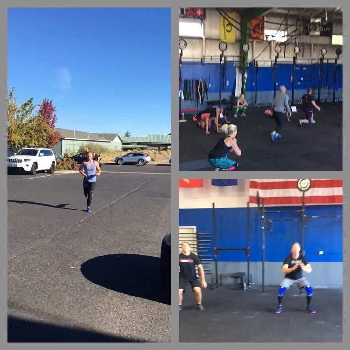 Hustle for the muscle, Saturday AM crew, killin' it!  #type44 #type44strong #crossfit #reebok #inbend #centraloregon