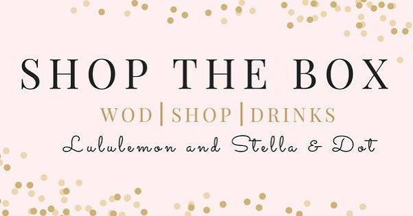 CrossFit, Lululemon, and Stella & Dot! Could it get ANY better? 🏋🏻‍♀️🍾💍 ….. Join us December 4th at 9a! FREE CrossFit WOD followed by FREE drinks, and SHOPPING from Lululemon and Stella & Dot! ….. #boomshockalaka #type44strong #inbend #centraloregon #crossfit #lululemon #stelladotstyle