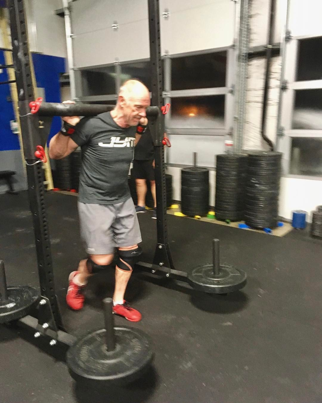 63 years old and killin' it at 5:30a everyday 💪🏽 . 📸: @amyludz . . #type44 #type44strong #crossfit #reebok #fitaid #rogue #roguefitness #yoke #inbend #localize #centraloregon #boomshockalaka #fitness #powerlifting #training #wod #strength #nike #metcon #bendoregon #fitfam