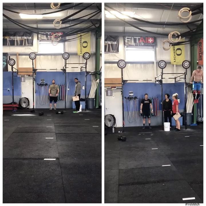 Welcome to the bar muscle up club @josh_wyma and @corycrowerks! . 17.2 Open magic continues! 💥 . . . #intheopen #type44 #type44strong #crossfit #reebok #fitaid #rogue #roguefitness #inbend #localize #centraloregon #boomshockalaka #fitness #powerlifting #training #wod #strength #nike #metcon #bendoregon #firstbarmuscleup @crossfitgames