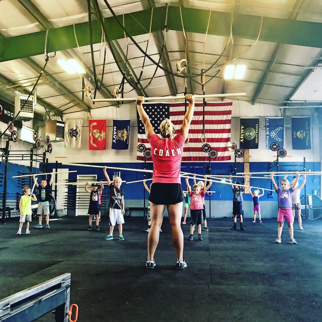 CrossFit Kids coaches are some of the most gifted people in our community. To be patient, fun, informative, and tolerant can only happen when you have a individual who genuinely cares about helping others maximize their potential. . . 📸: @jenhumphrey