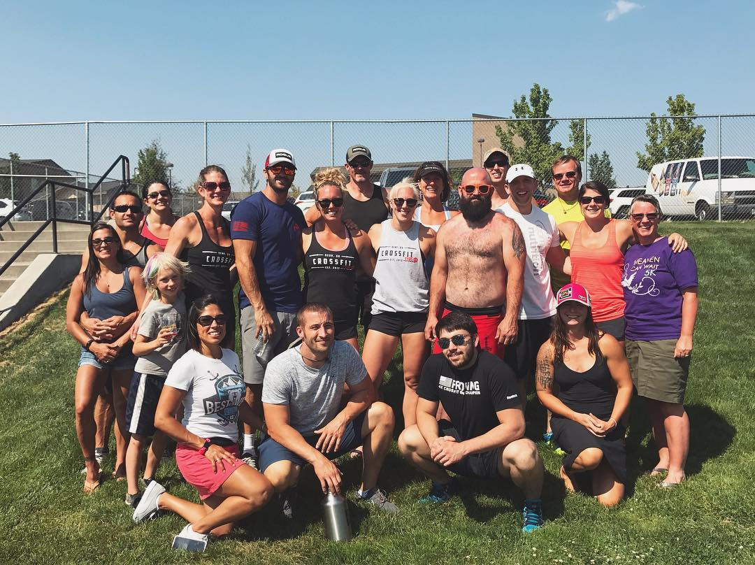 Great job athletes! Thank you to everyone that came out to support, and thank you @oregoncrossfitoc for putting on a great event!