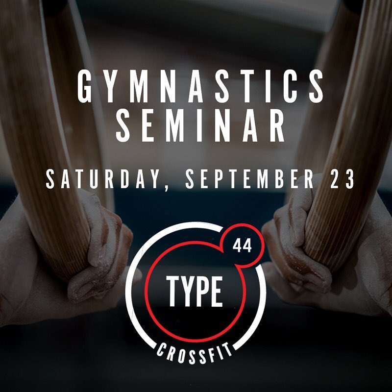 Join us September 23rd for our Gymnastics Seminar with @bimflip! . DM for more details!