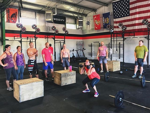 """The real competition isn't against the clock. It's against yourself, your fears, your doubts, your insecurities, your expectations, your pain. Its so much more than just a """"workout."""" That's why in our community, you'll never be finishing alone."""