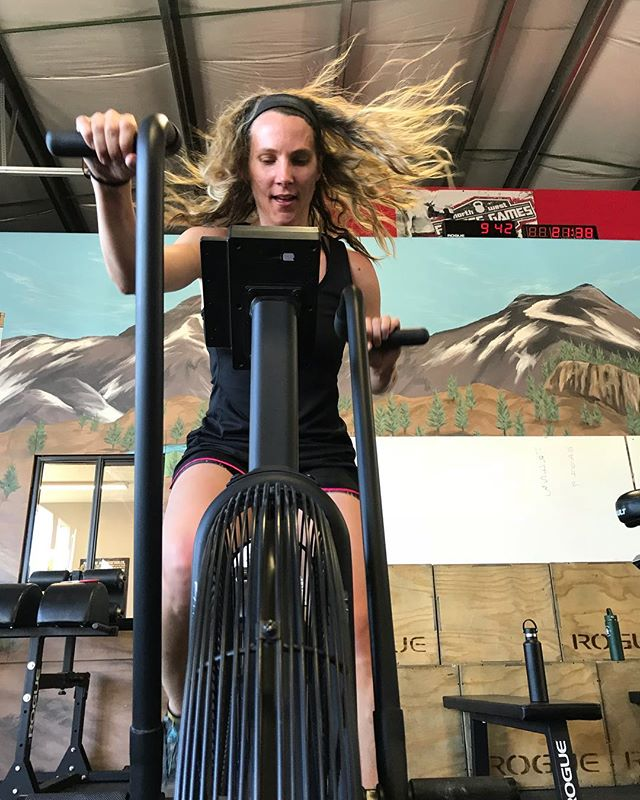The way bike WODs (or any WOD) can almost instantly make us question our sanity but also provide the best sense of accomplishment when we're done… It's not crazy. Some of us just like to grow through pain. 💪