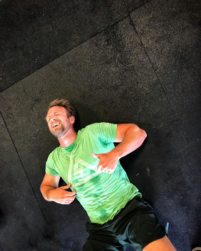 When you're not sure if your more excited about the three day weekend, or that you made it through the WOD…😱👍🎉