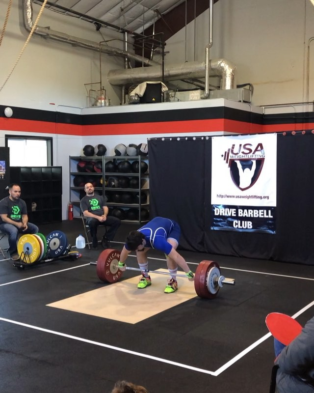 Congratulations to our Olympic lifting coach @mbrobernik who PR'd his snatch at 136 kilos and broke junior and senior records this weekend!!!