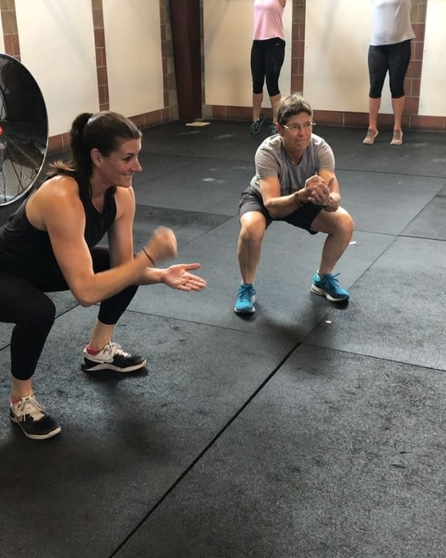 Keeping the fun in fitness (and 30 sec air squat holds