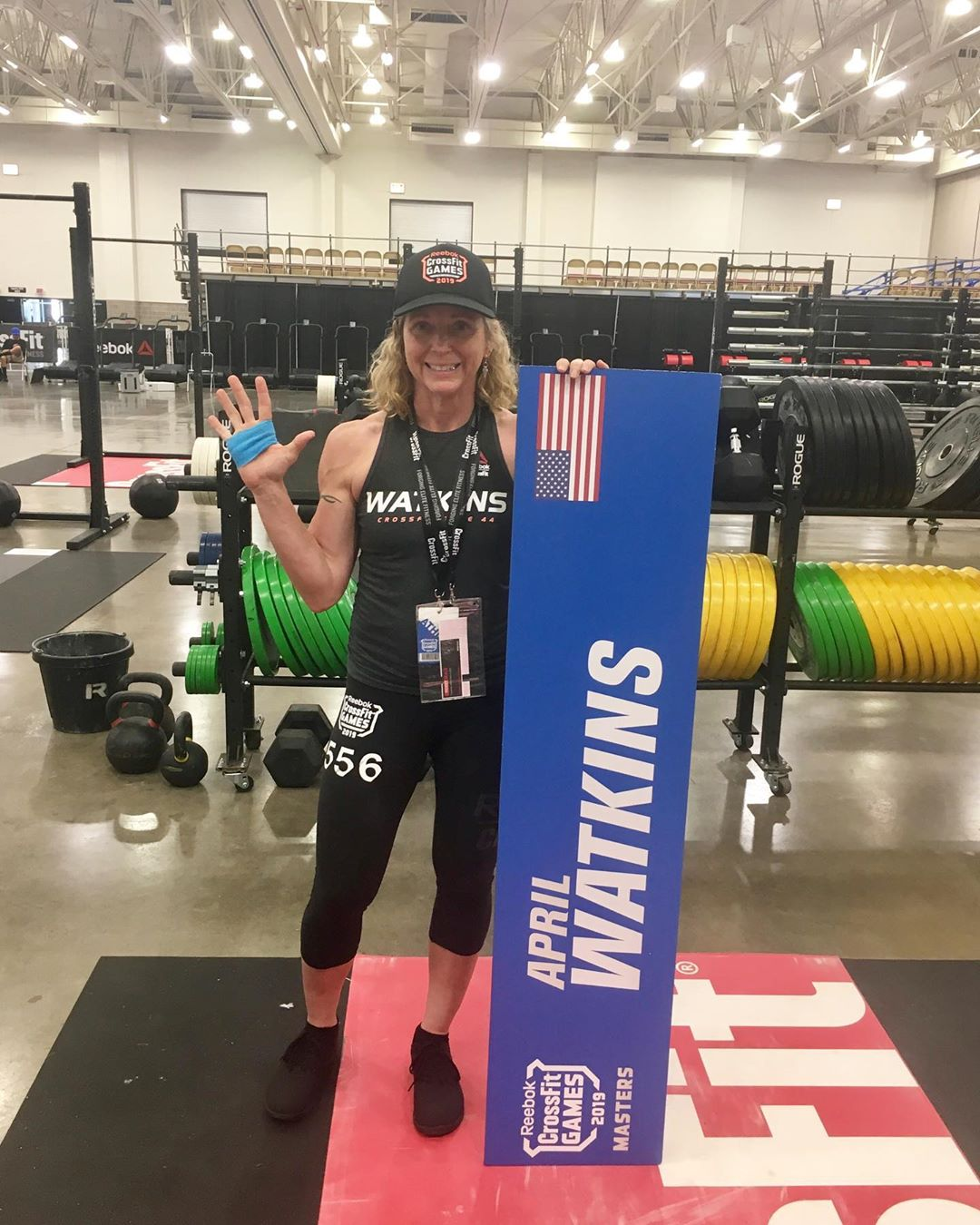 @aprilwatkins6735, 5th place in the WORLD! 💪🏽