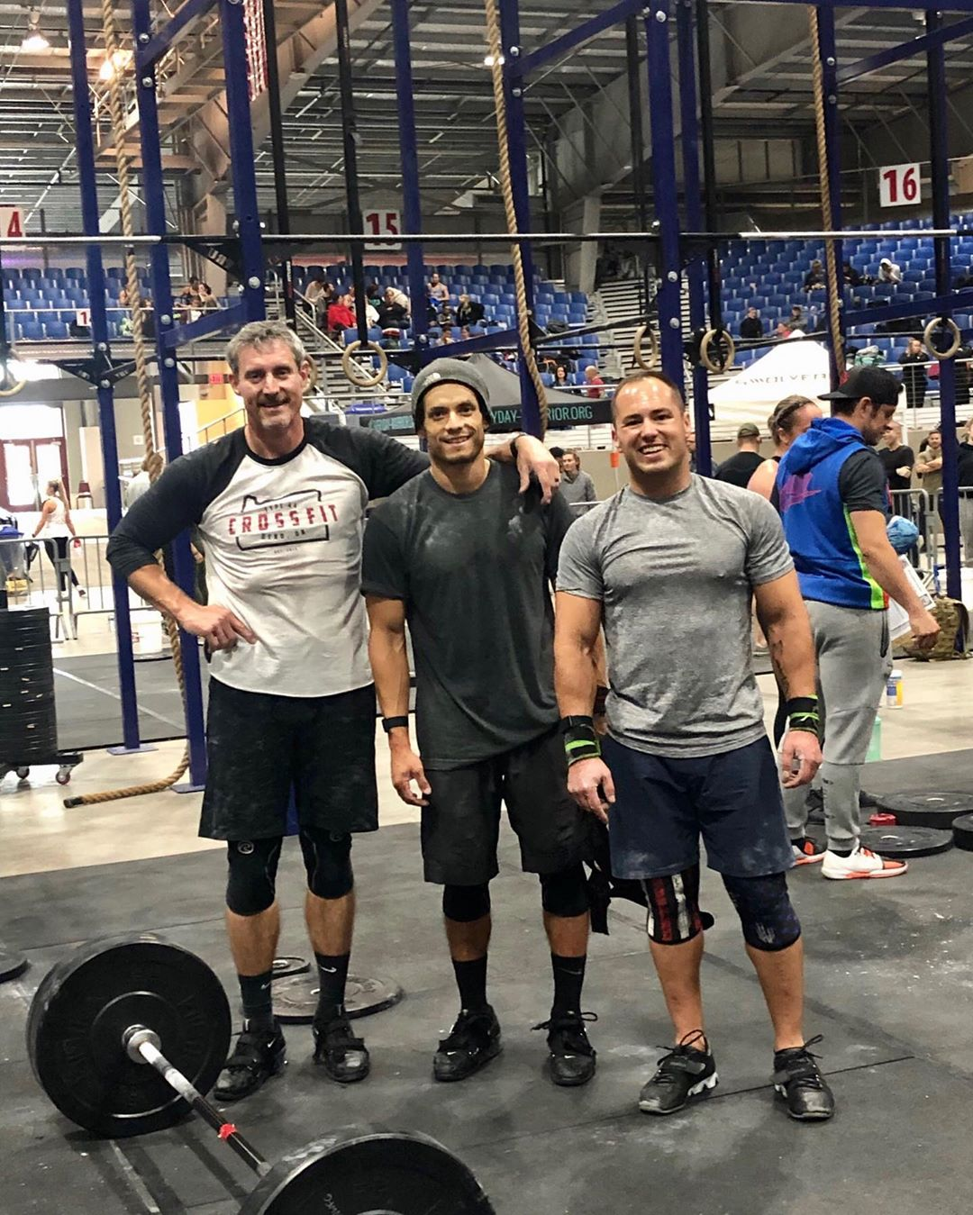 """Type 44's """"Brookswood Bro's"""" with a🥈finish at @nwfitgames Gobbler Gauntlet! Congrats @t.mack.attack @phumps63 @r.zep1"""