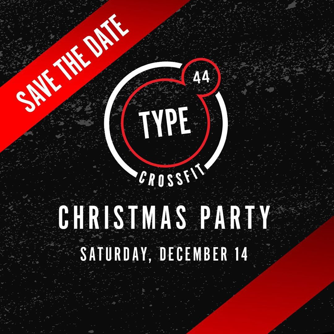 Ugly sweaters, free memberships, food, & a workout. We'll see you on the 14th!